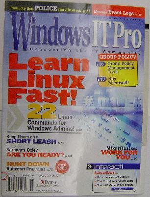 Windows 雜誌封面